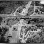 Aerial view of Black Rock Turnpike Bridge and Vicinity