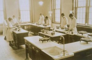 Nutrition class, Connecticut Agricultural College