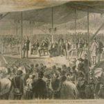 Fourth of July celebration, Woodstock, 1870
