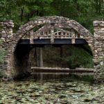 Bridge on the grounds of Gillette's Castle