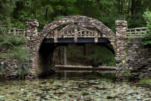 Bridge on the grounds of Gillette's Castle