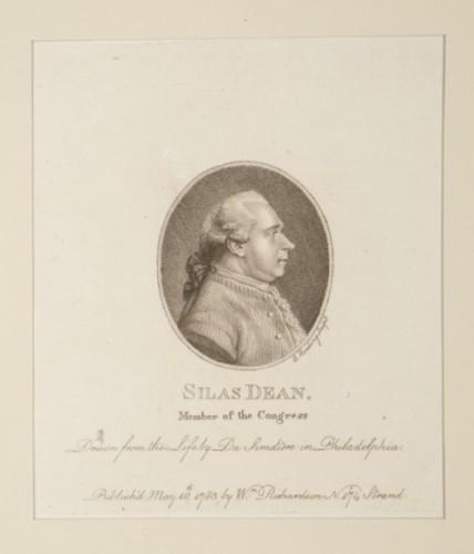 Pierre Eugene Du Simetière, Silas Deane. Member of Congress
