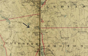 Detail of the South Part of New London Co.