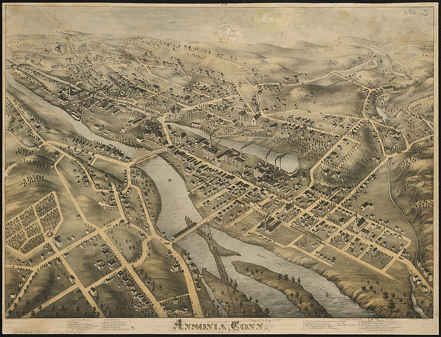 View of Ansonia, Conn. 1875