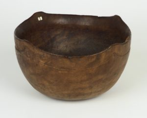 Pequot bowl, trade item, 17th century