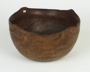 Pequot bowl, trade item, 17th century