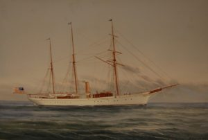 Eleanor: The Maltese Port painting by Vincenzo D'Esposito