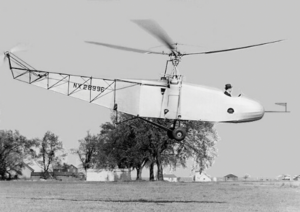 Igor Sikorsky in the VS-300