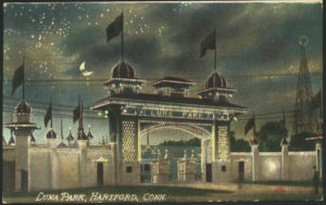 Postcard of Luna Park, Hartford