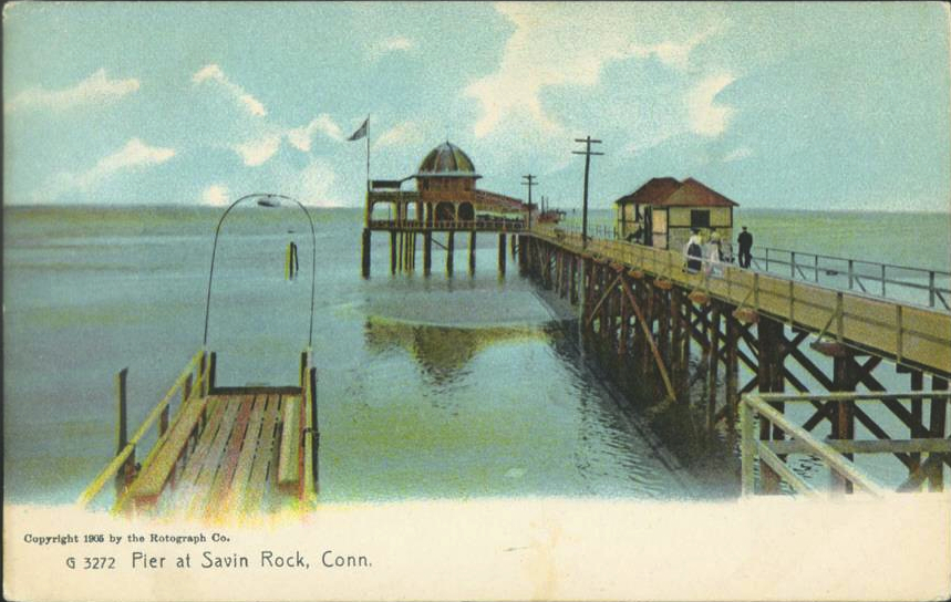 Pier at Savin Rock, West Haven, 1905