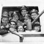Airmen returning home, Bradley Field, Windsor Locks