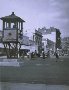 Downtown Meriden, West Main Street, 1948
