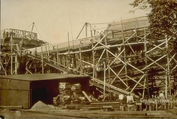 Shipbuilding at Gildersleeve Ship Construction Co., Portland