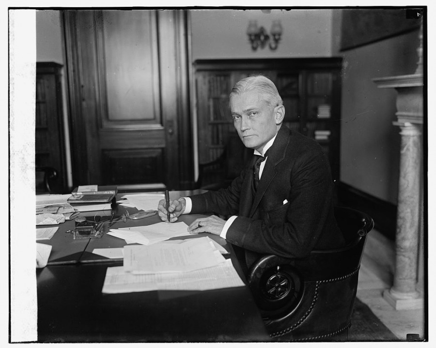 Senator Hiram Bingham of Connecticut