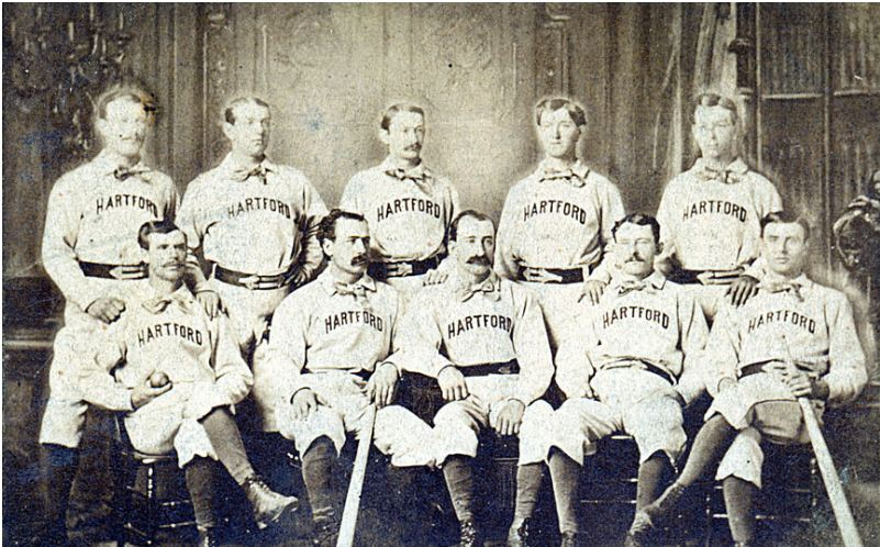 Photograph of the Hartford Dark Blues