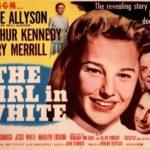 The Girl in White, movie advertisement starring June Allyson as Emily Dunning Barringer