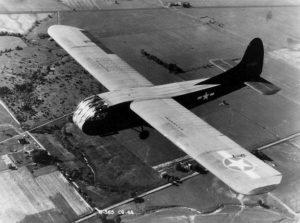 A US Army Air Force Waco CG-4A-WO glider