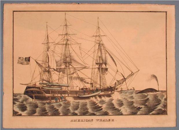 American Whaler printed by Elijah Chapman Kellogg