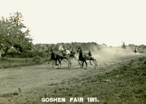 Horse race, Goshen Fair, 1911