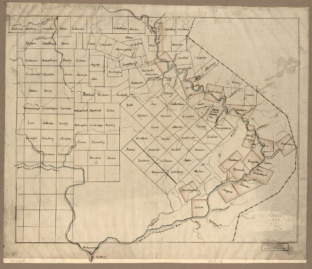 Map of The Part of Pennsylvania that Lies Between the Forks of the Susquehannah, Divided Into Townships