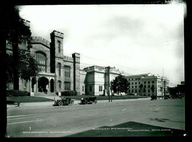 Wadsworth Atheneum, Morgan Memorial, and Municipal Building, Main Street, Hartford