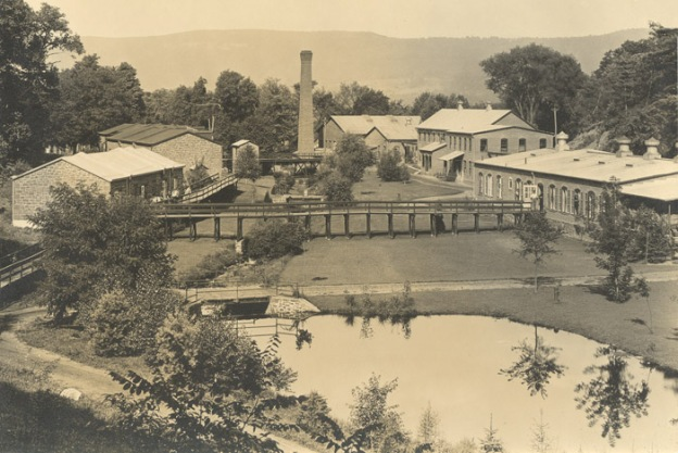 Ensign, Bickford & Company fuse factory campus, ca. late 1800s