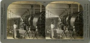 Reeling Warp, Silk Industry, South Manchester