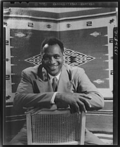 Paul Robeson by Gordon Parks, 1942