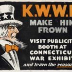 World War I broadside referencing Kaiser Wilhelm's Willing Helpers, ca. early 1900s from the Connecticut War Exhibit
