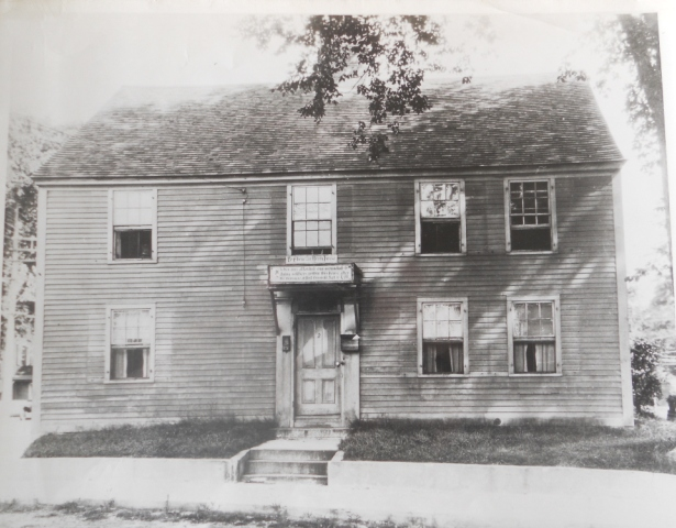 Historic photo of the Ebenezer Avery House, Groton