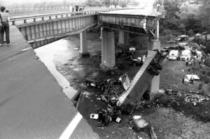 Collapse of the Mianus River Bridge
