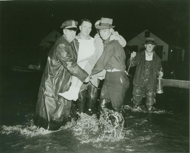 Rescue Scene, Hurricane, September 1938