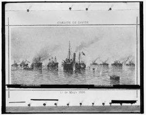 Combate de Cavite, 10 de Mayo 1898