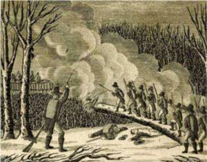 Attack on the Narragansett fort