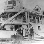 The crew and passengers of the steamboat Sunshine