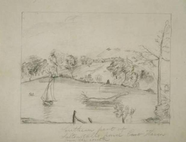 Southern part of Saltonstalls Pond, East Haven