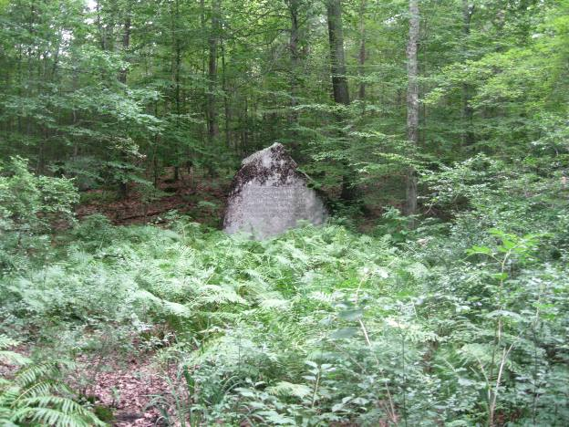 Alain and May White Memorial Boulder