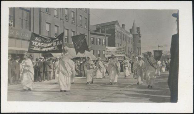 Women Suffrage March