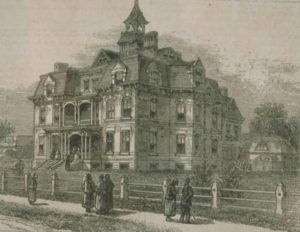 Chinese Educational Mission: the college, Hartford