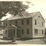 Sexton family home, now the Ellington Historical Society