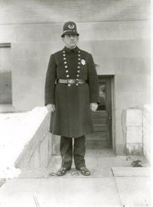 Policeman, ca. 1905