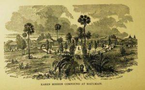 Karen Mission Compound at Maulmain