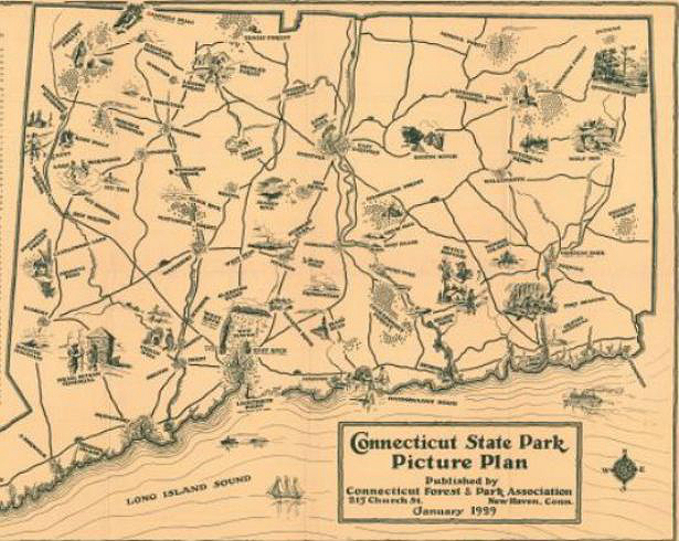 Connecticut State Park Picture Plan