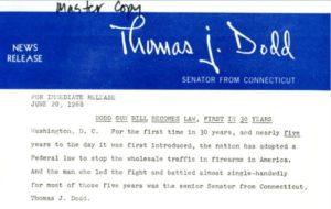 Dodd Gun Bill Becomes Law