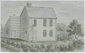 The house of Samson Occom in Mohegan, Montville