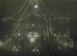 Illumination of Old State House, Hartford, December 31, 1900