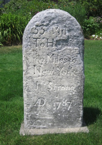The Jedediah Strong Milestone