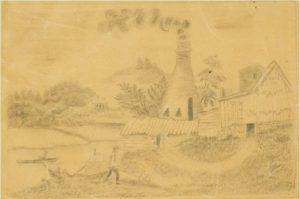 Pottery at Norwich, Norwich, ca. 1830.