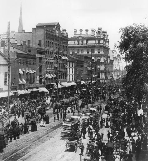 Circus Parade, Main Street, Hartford