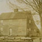 Front view of John Browns birthplace, Torrington